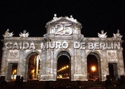 25 Aniversario Caida del Muro de Berlin