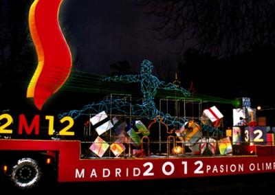 Cabalgata Madrid 2012